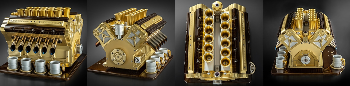 The most luxurious coffee machine in the world